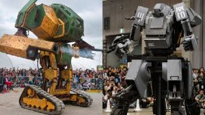 The giant robot battle of your dreams is actually happening