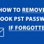 remove password from Outlook Data file