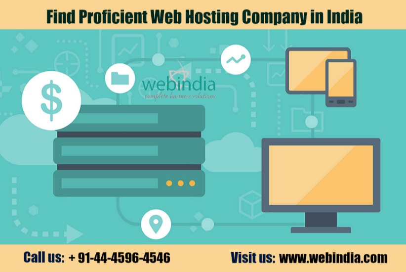 Find Proficient Web Hosting Company in India