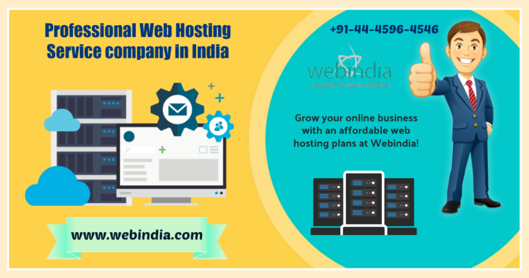 Professional Web Hosting Service Company in India