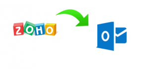 add Zoho mail to Outlook