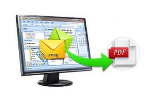 Export Outlook messages to PDF