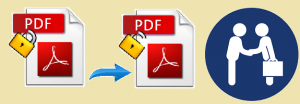 remove encryption from pdf